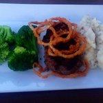 Steak grillé et ses légumes !
