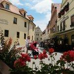 歷史古城市中心