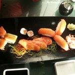 Sushi at Cafe Mekka, Harare. Great meal