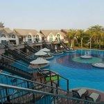 Villa rooms with private sun decks