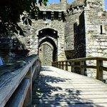 The entrance to Beaumaris castle