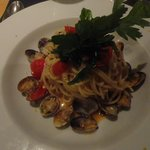Main course - Spaghetti with clams and tomatoes 2