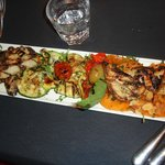 Appetizer - Mixed grill vegetables