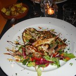Main course - Grilled swordfish