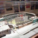 a model of the stadium