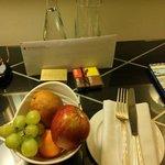 Suite - welcome amenities