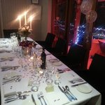 Our beautiful Valentines Wedding Table!