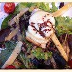 Salade de chèvre chaud !