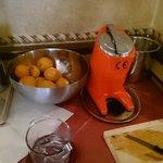 フレッシュジュースを作った