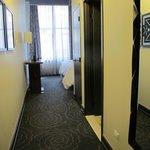 Room 302's hallway.