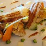 Ris de veau et homard breton...