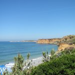 la costa vista dal mini club