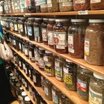 Spices and teas in Market Spice.