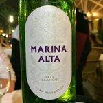 Marina Alto - Local white wine that tasted amazing!