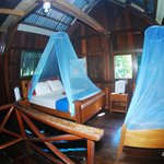 Upstairs in the Bungalow. Sleeps 5-6 comfortably