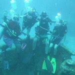 Fun on a wreck dive