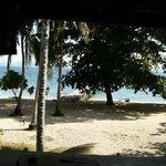 spiaggia vista dal coral eye