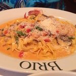 Shrimp And Lobster Fettucini
