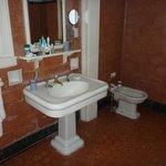 "The ""period"" bathroom."