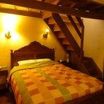 Bedroom with mezzanine