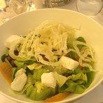 Wellbeing salad at Rome Cavalieri
