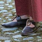 More hand made Tudor shoes.