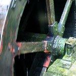 Mill wheel.