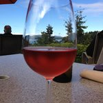Wine on the bluff