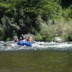 finishing some rapids