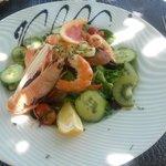Salade hôtel de la mer
