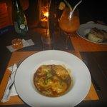 Lobster ravioli special