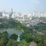 Blick auf Lumpini Park
