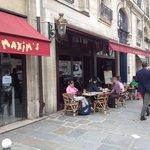 Maxim's, Paris, terrasse Minix's