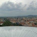 Ausblick über Graz