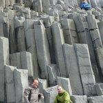 The basalt columns of Reynisfjara