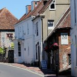 Moonraker in High Street, Alfriston ~  from the south
