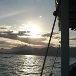 Volta do passeio de barco