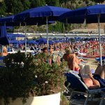 the crowds at Lido