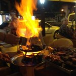 Fado Rock pancake goes up in flames