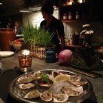 $1.00 Oysters in the Lounge Upstairs