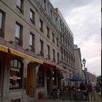 Facade of Auberge de la Place Royale Facing East