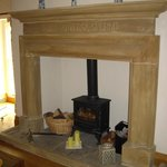 Fire surround in the Square Room