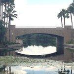 bridge at the caribbean beach resort