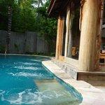 piscine de la suite