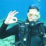 first 'OK' dive!