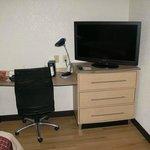 Work area & TV
