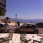 sea view from hotel restaurant