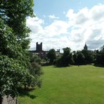 Chester Catherdral grounds from King Charles Tower