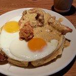 Chicken & Waffle. Excellent!