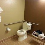 Empty Restroom